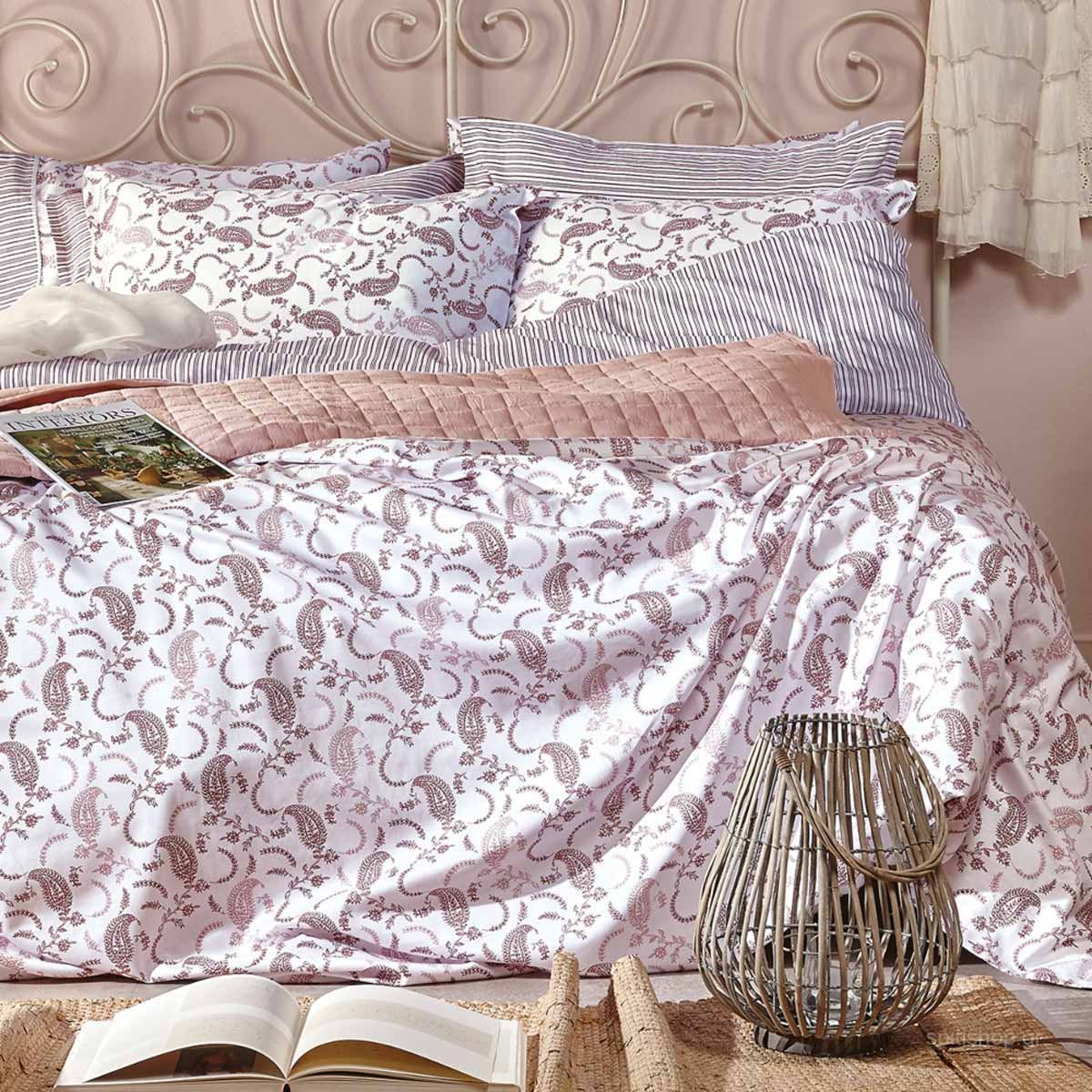 Σεντόνια King Size (Σετ) Kentia Stylish Leona 05