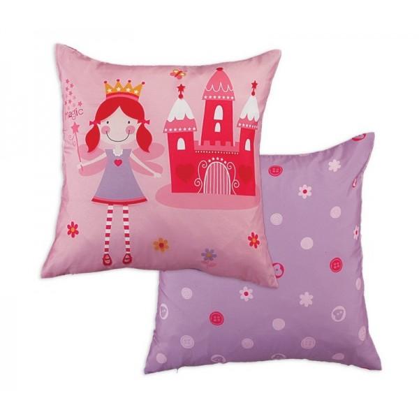 Διακοσμητικό Μαξιλάρι 2 Όψεων Nef-Nef Junior Fairy Castle