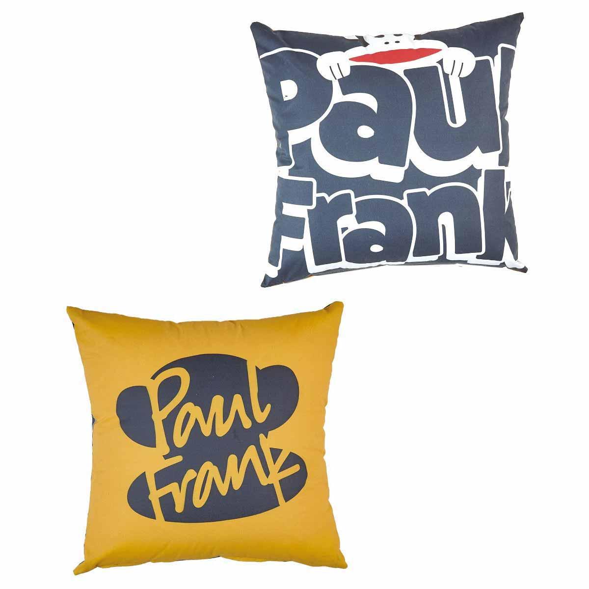 Διακοσμητική Μαξιλαροθήκη 2 Όψεων (45x45) Kentia Kids Paul Frank