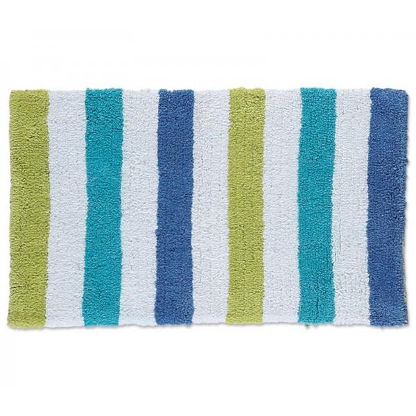 Πατάκι Μπάνιου (50x80) Nef-Nef Straight Blue