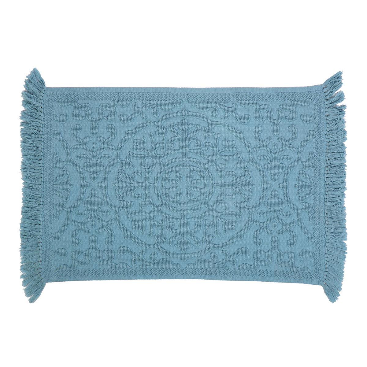 Πατάκι Μπάνιου (60×90) Nef-Nef Shirley Turquoise