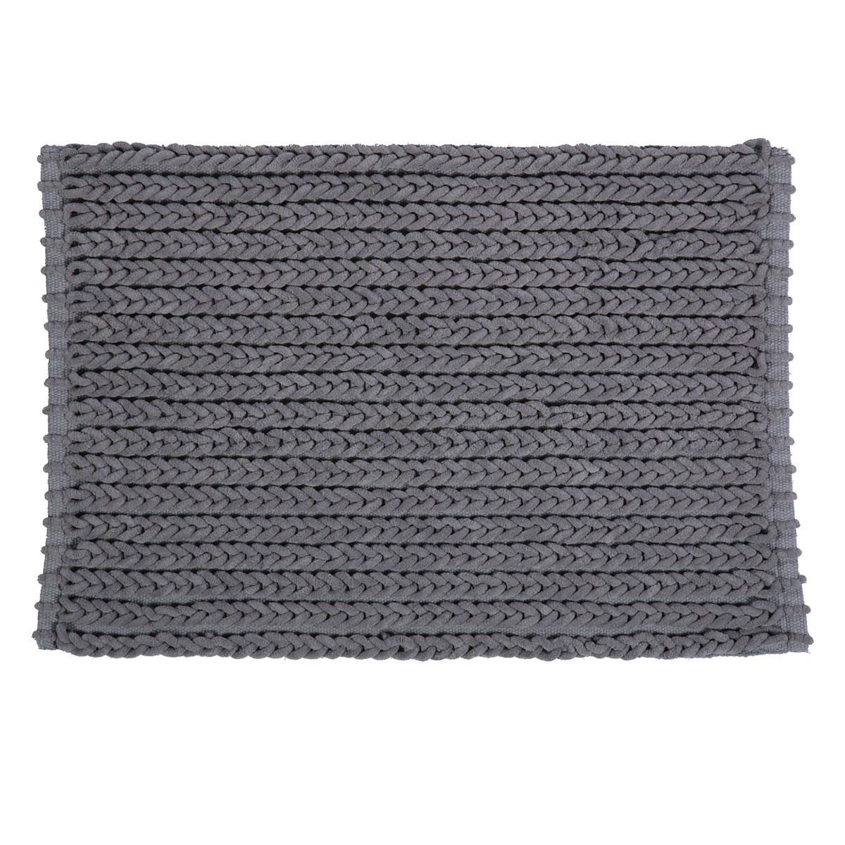 Πατάκι Μπάνιου (60×90) Nef-Nef New Supreme Grey