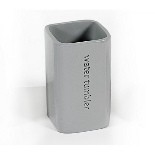 Ποτήρι Οδοντόβουρτσας Nef-Nef Bath Grey