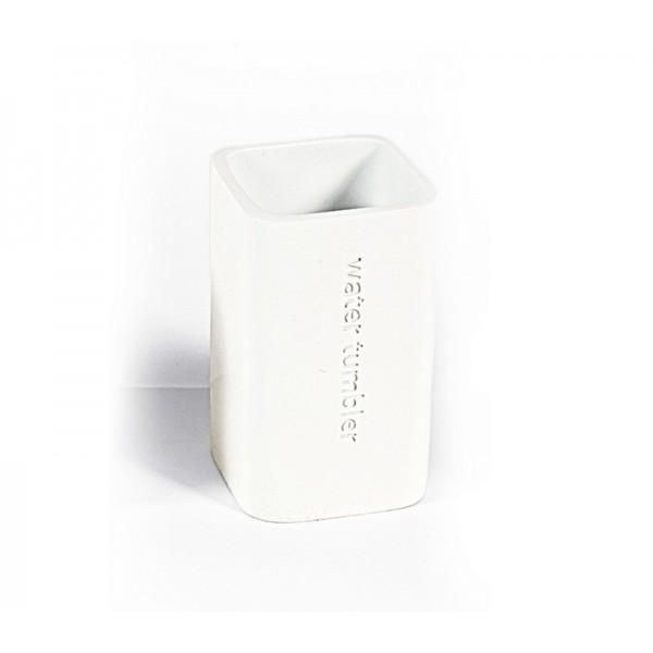 Ποτήρι Οδοντόβουρτσας Nef-Nef Bath White