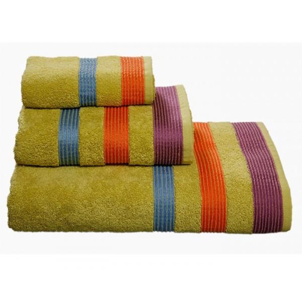 Πετσέτες Μπάνιου (Σετ 3τμχ) Nef-Nef Prima Green