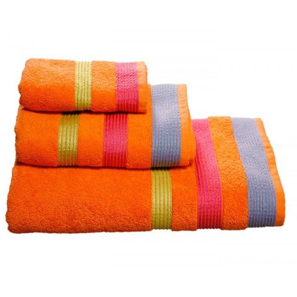 Πετσέτες Μπάνιου (Σετ 3τμχ) Nef-Nef Prima Orange