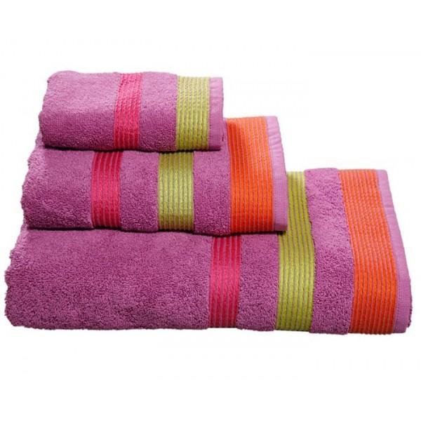 Πετσέτες Μπάνιου (Σετ 3τμχ) Nef-Nef Prima Purple