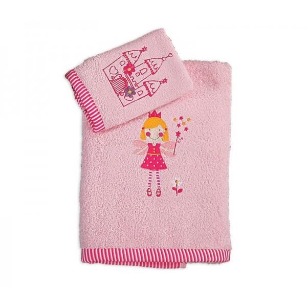 Παιδικές Πετσέτες (Σετ 2τμχ) Nef-Nef Kid Line Fairy Castle