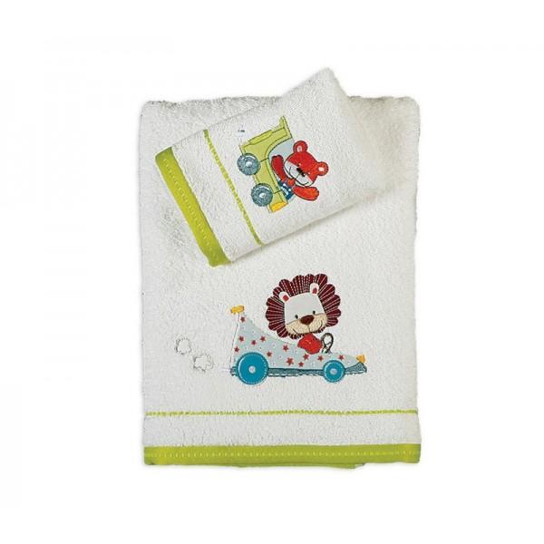 Παιδικές Πετσέτες (Σετ 2τμχ) Nef-Nef Kid Line Jungle Speed