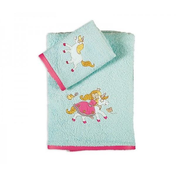 Παιδικές Πετσέτες (Σετ 2τμχ) Nef-Nef Kid Line Princess World