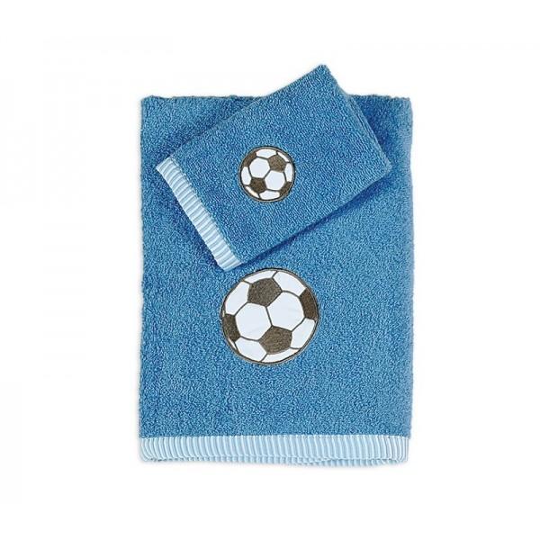 Παιδικές Πετσέτες (Σετ 2τμχ) Nef-Nef Kid Line Sports