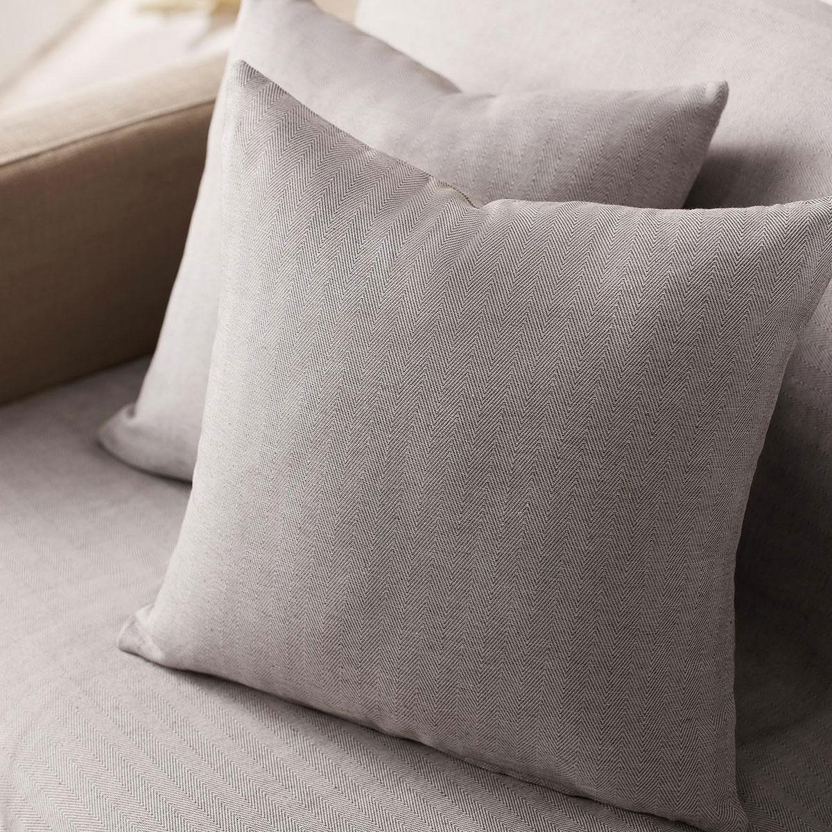 Διακοσμητική Μαξιλαροθήκη (50×50) Gofis Home Rene Grey 732/15