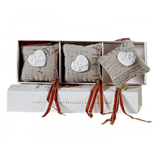 Αρωματικές Καρδούλες Ντουλάπας Nef-Nef Living Linen