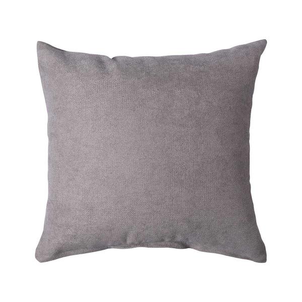 Διακοσμητική Μαξιλαροθήκη (45x45) Silk Fashion A802 Γκρι Σκούρο