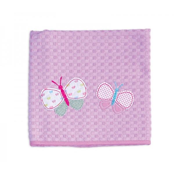 Κουβέρτα Πικέ Κούνιας Nef-Nef Baby Butterflies