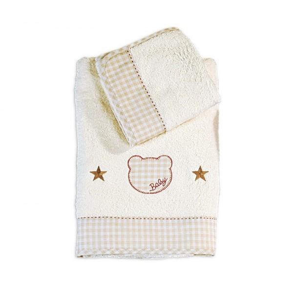 Βρεφικές Πετσέτες (Σετ 2τμχ) Nef-Nef Baby Chic Bear