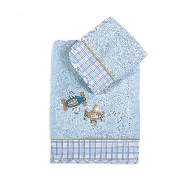 Βρεφικές Πετσέτες (Σετ 2τμχ) Nef-Nef Baby Flight