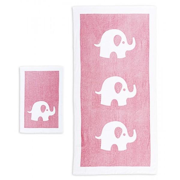 Βρεφικές Πετσέτες (Σετ 2τμχ) Nef-Nef Baby Barrus Pink