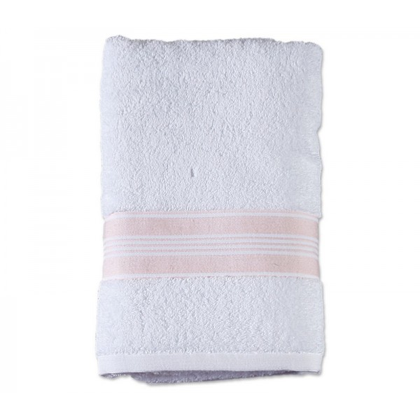 Πετσέτα Προσώπου (50x90) Nef-Nef Vogue 2 White/Pink
