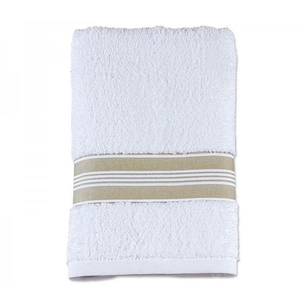 Πετσέτα Προσώπου (50x90) Nef-Nef Vogue 2 White/Green