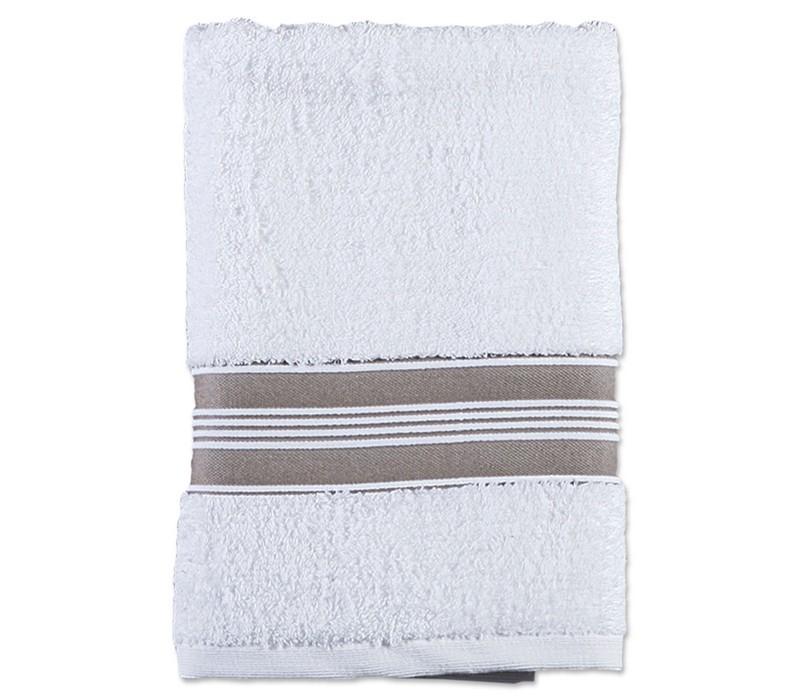 Πετσέτα Προσώπου (50x90) Nef-Nef Vogue 2 White/Beige