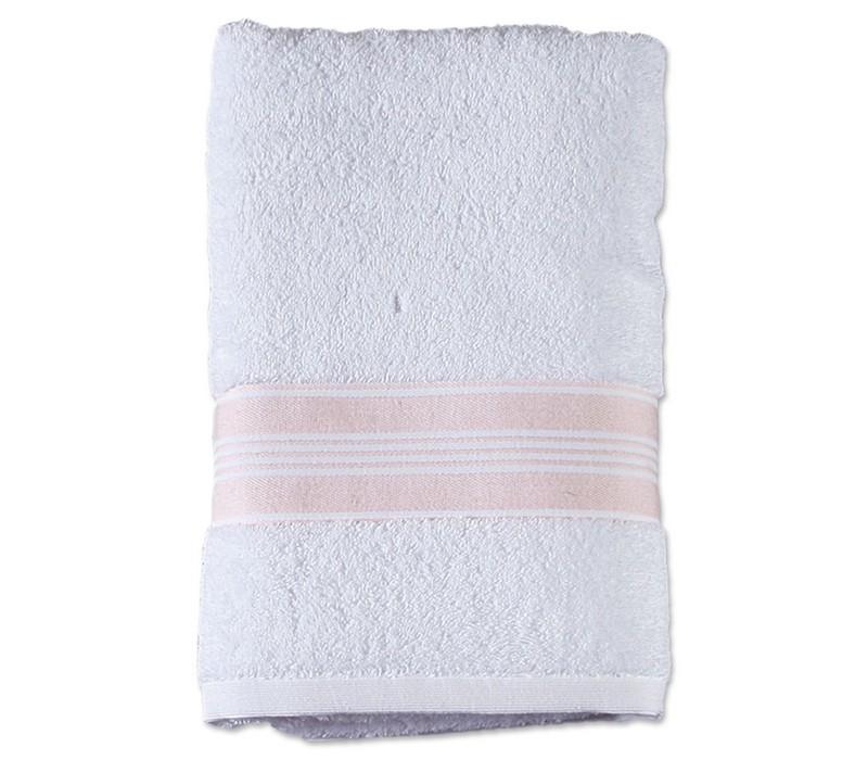 Πετσέτα Σώματος (70x140) Nef-Nef Vogue 2 White/Pink