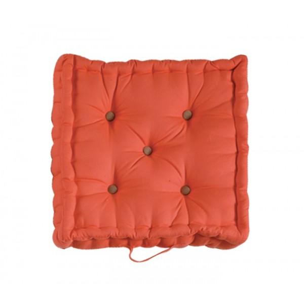 Μαξιλάρα Δαπέδου Nef-Nef Living Solid Orange