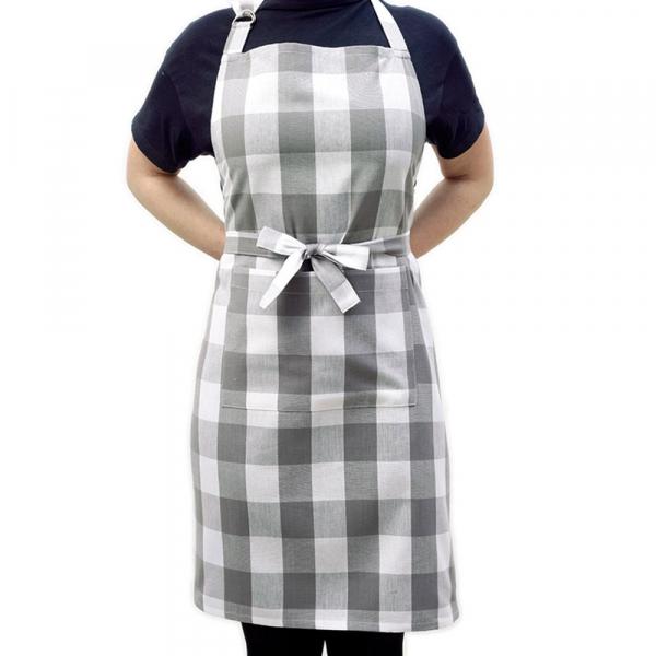 Ποδιά Κουζίνας Melinen Big Check Grey