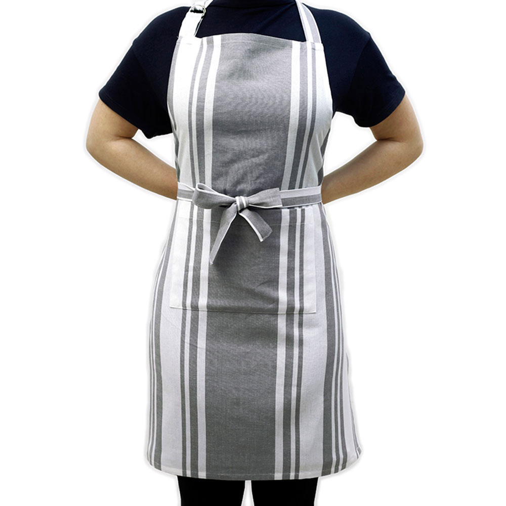 Ποδιά Κουζίνας Melinen Stripes Grey