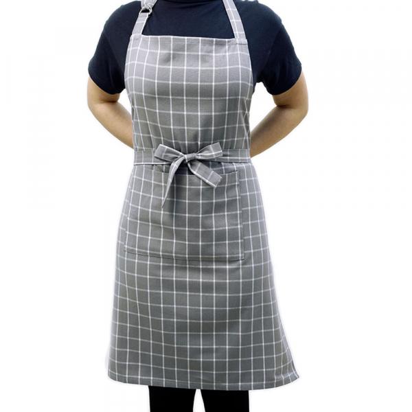 Ποδιά Κουζίνας Melinen Small Check Grey