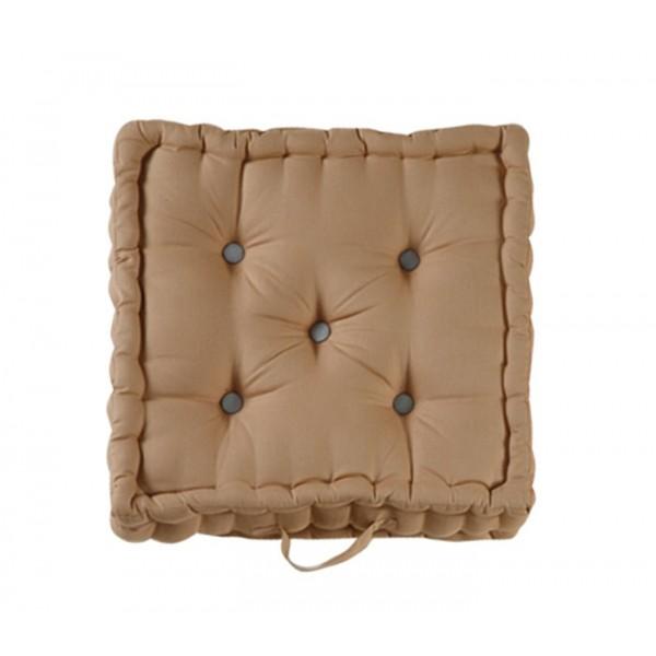 Μαξιλάρα Δαπέδου Nef-Nef Living Solid Brown