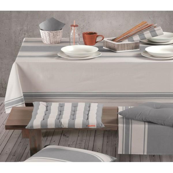 Τραπεζομάντηλο (140x140) Nef-Nef Kitchen Veta Grey