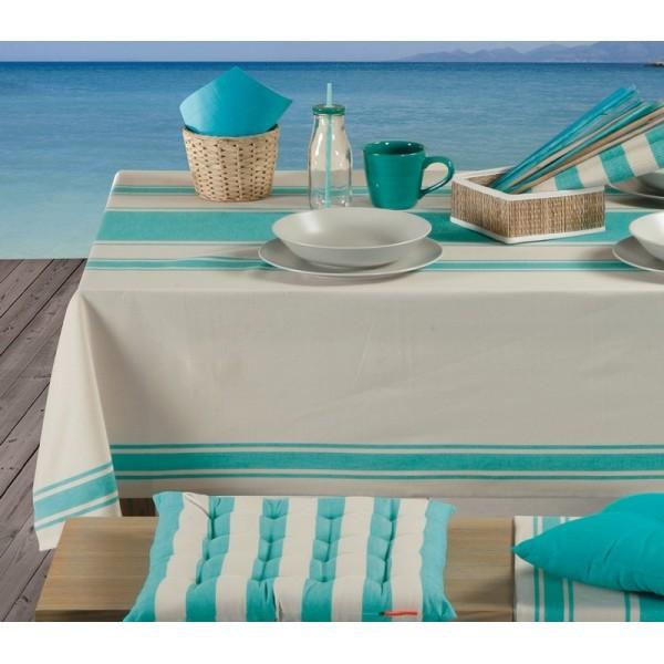 Τραπεζομάντηλο (140x140) Nef-Nef Kitchen Veta Turquoise