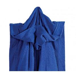 Μπουρνούζι Γυμναστηρίου Με Κουκούλα Nef-Nef Gym Blue