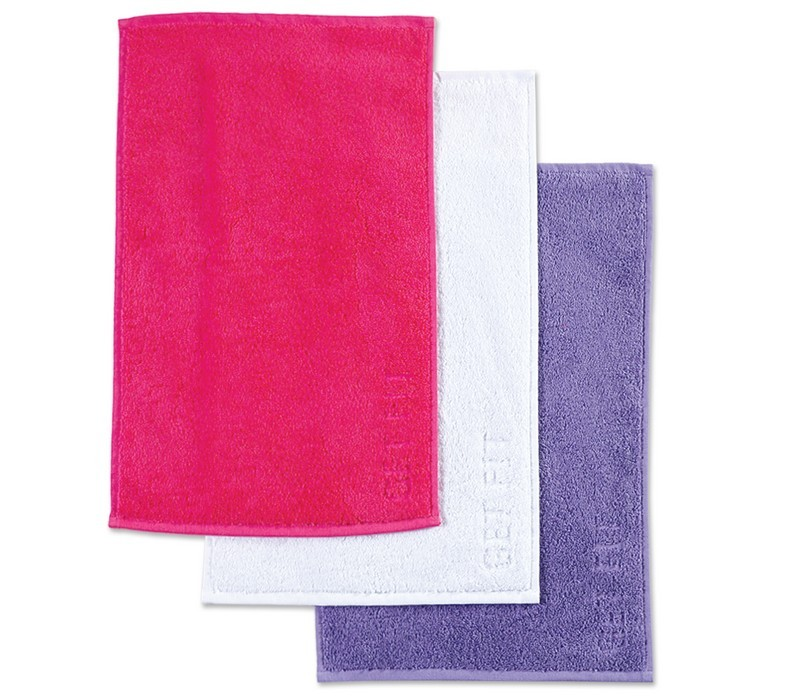 Πετσέτες Χεριών Γυμναστηρίου (Σετ) Nef-Nef Gym Fuchsia home   μπάνιο   πετσέτες μπάνιου