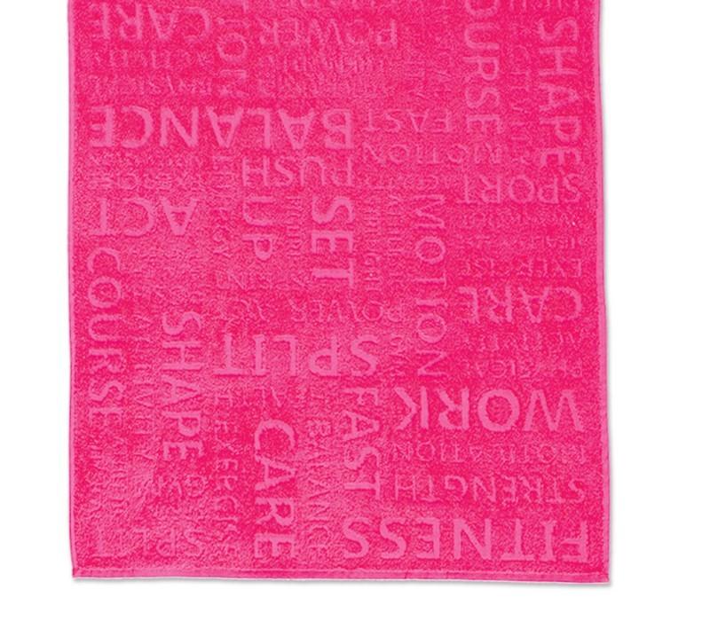 Πετσέτα Προσώπου Γυμναστηρίου Nef-Nef Gym Fuchsia