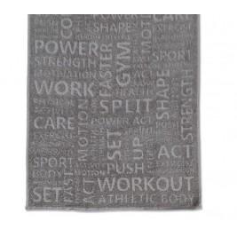Πετσέτα Προσώπου Γυμναστηρίου Nef-Nef Gym Grey
