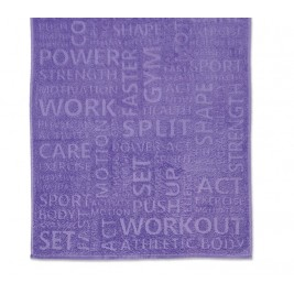Πετσέτα Σώματος Γυμναστηρίου Nef-Nef Gym Purple