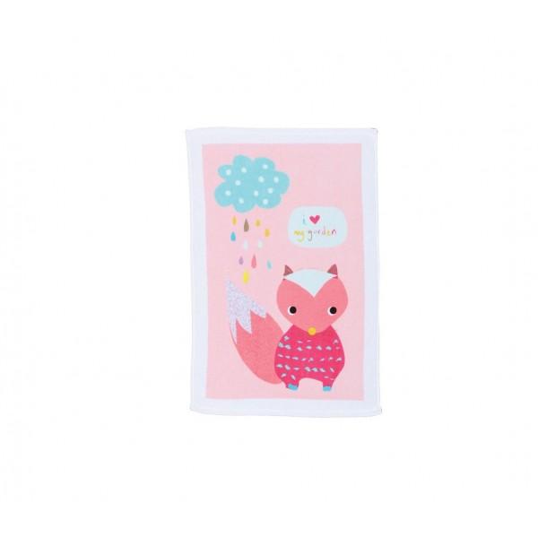 Βρεφική Πετσέτα Χεριών (40x60) Nef-Nef Baby My Garden Pink