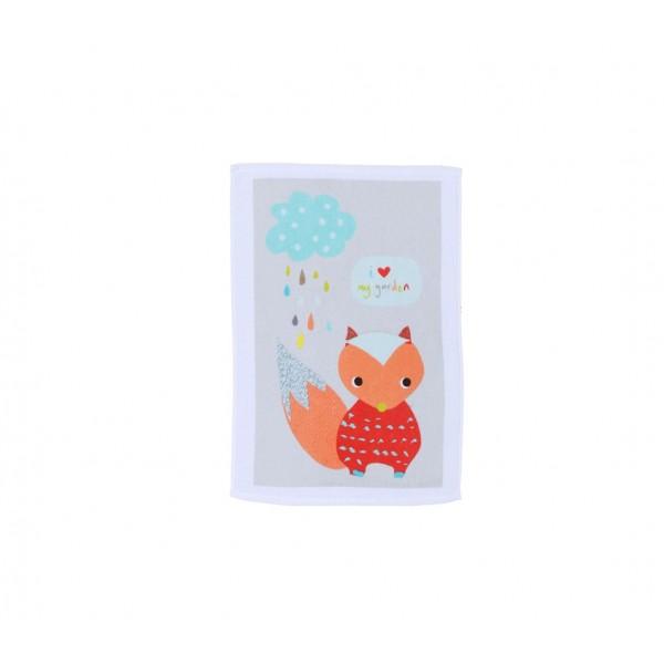 Βρεφική Πετσέτα Χεριών (40x60) Nef-Nef Baby My Garden Grey
