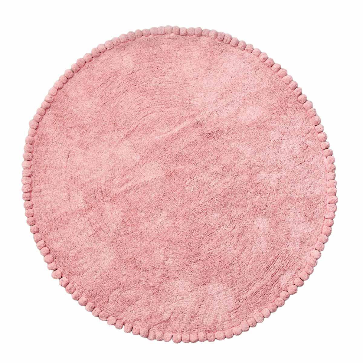 Παιδικό Στρογγυλό Χαλί (Φ120) Palamaiki Sugar Pink