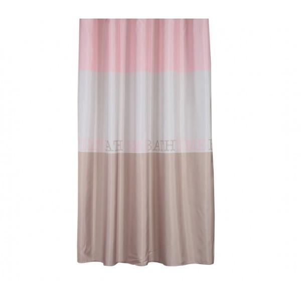 Κουρτίνα Μπάνιου (180x180) Nef-Nef Bath Time Pink