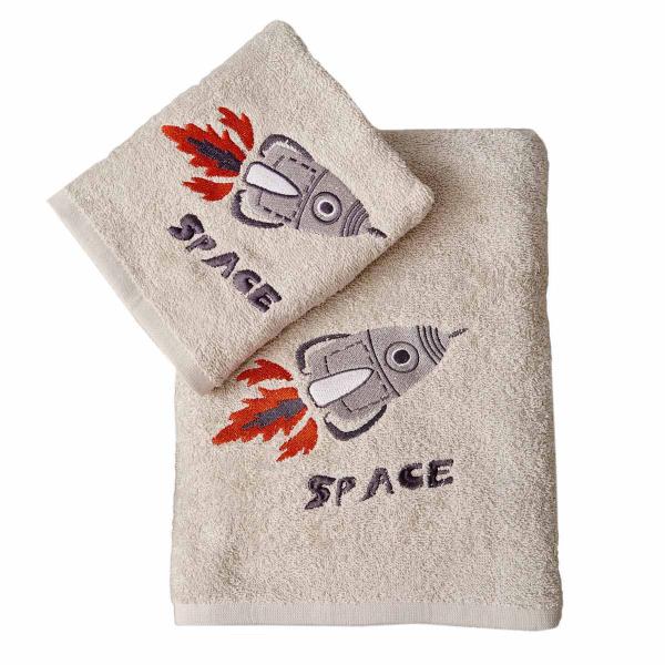 Παιδικές Πετσέτες (Σετ 2τμχ) Palamaiki Space