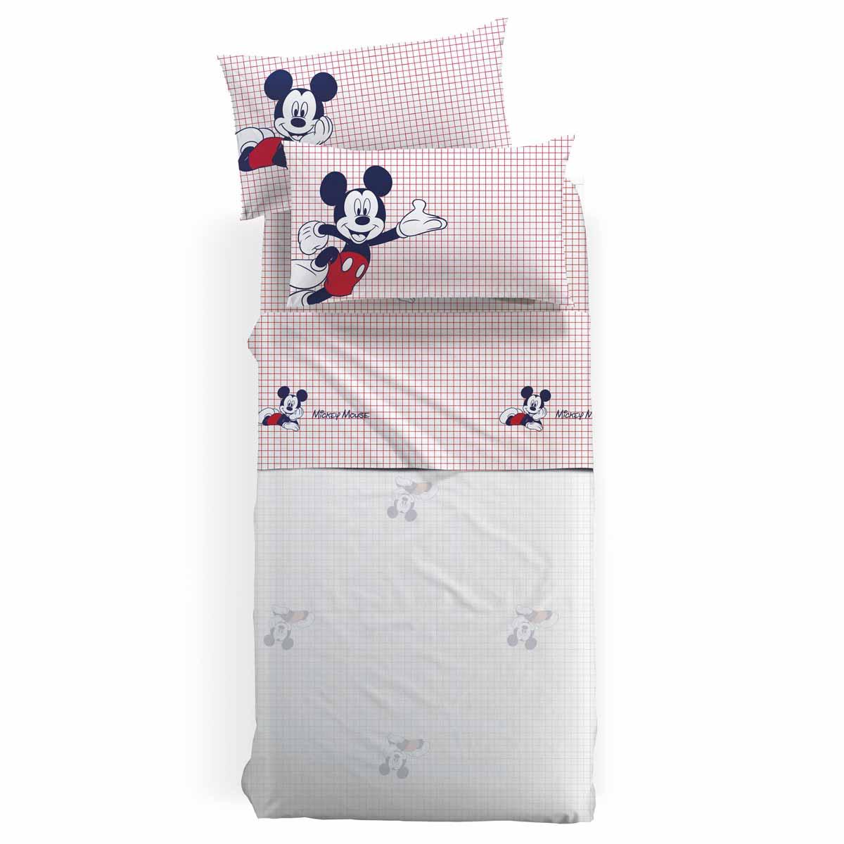 Σεντόνια Μονά (Σετ) Palamaiki Disney Mickey Mouse