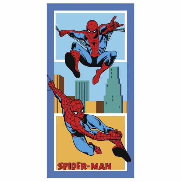Παιδική Πετσέτα Θαλάσσης Palamaiki Spiderman America