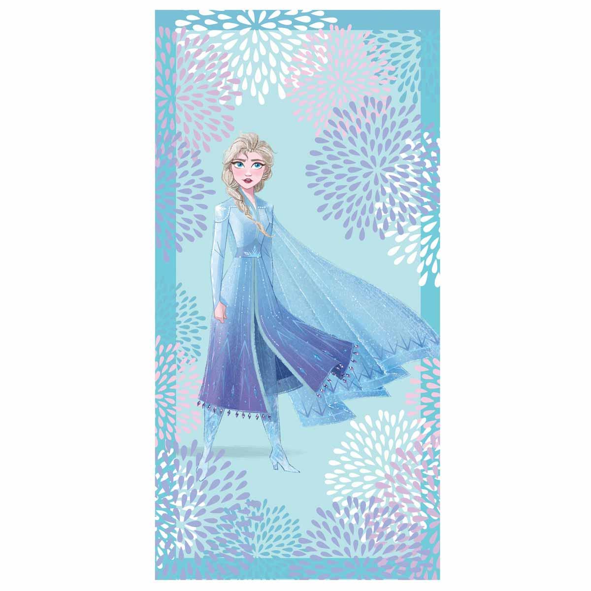 Παιδική Πετσέτα Θαλάσσης Palamaiki Disney Elsa Blue