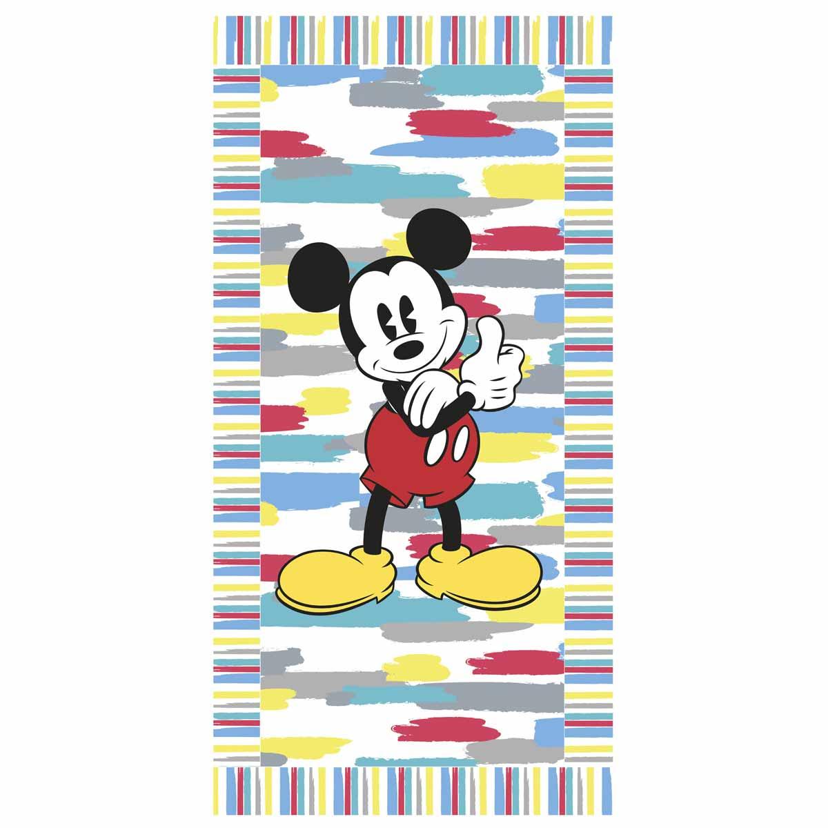 Παιδική Πετσέτα Θαλάσσης Palamaiki Disney Mickey Camp