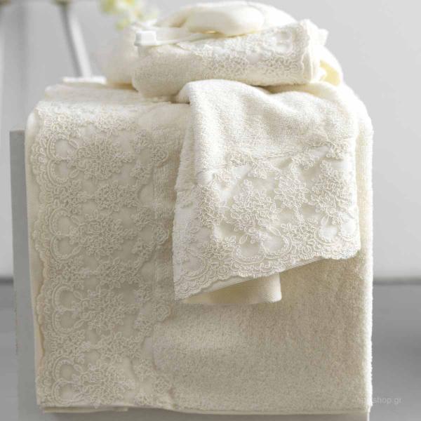 Πετσέτες Μπάνιου (Σετ 3τμχ) Palamaiki Towels Pride