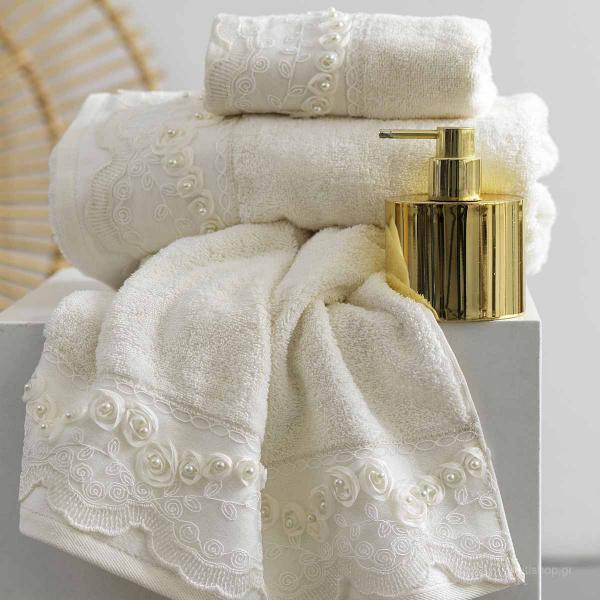 Πετσέτες Μπάνιου (Σετ 3τμχ) Palamaiki Towels Rudy