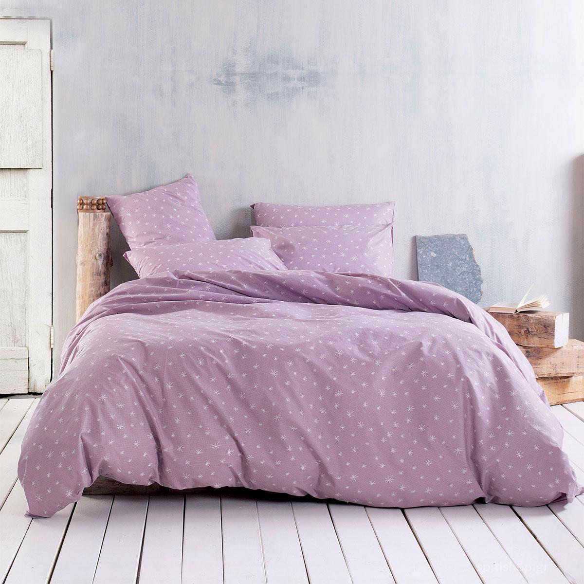 Σεντόνια Μονά (Σετ) Rythmos Next Luminosa Pink ΜΕ ΛΑΣΤΙΧΟ 105×205+25 ΜΕ ΛΑΣΤΙΧΟ 105×205+25